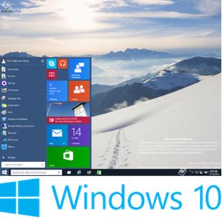Gambar: Tampilan dan Logo Windows 10