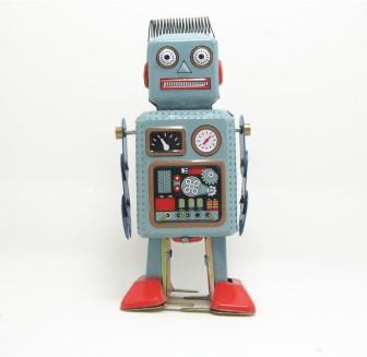 panas-penjualan-angin-up-berjalan-radar-robot-timah-mainan-retro-vintage-yang-hadiah-jarum-jam-mekanik